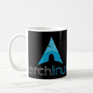 Arch Linux Logo Basic White Mug