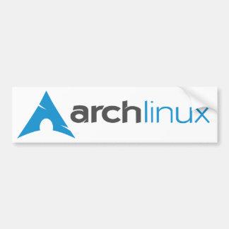 Arch Linux Logo Bumper Sticker