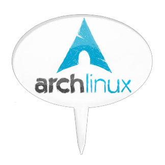 Arch Linux Logo Cake Pick