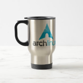 Arch Linux Logo Stainless Steel Travel Mug