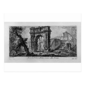Arch of Augustus, manufactured by Rimini by Giovan Postcard