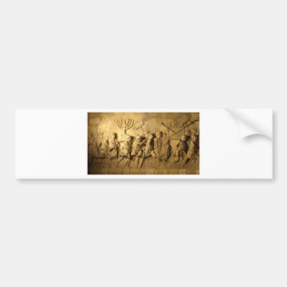 Arch of Titus Bumper Sticker