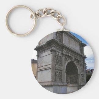 Arch of Trajan. Key Ring