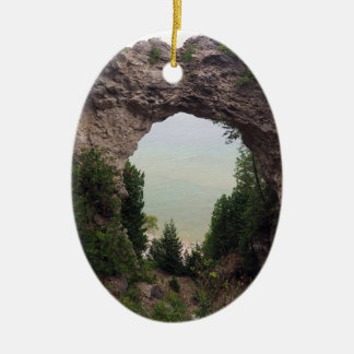 Arch Rock 832 Christmas Ornament