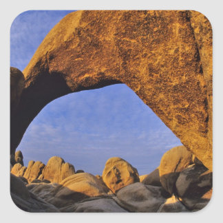 Arch Rock at Joshua Tree National Park in Square Sticker