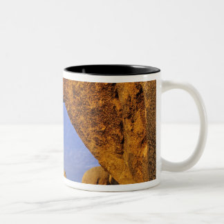 Arch Rock at Joshua Tree National Park in Two-Tone Coffee Mug