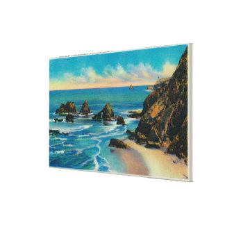 Arch Rock from Maxwell Point, OceansideCoast Canvas Print