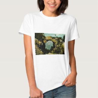 Arch Rock Mackinac Island, Michigan 1911 Tshirts