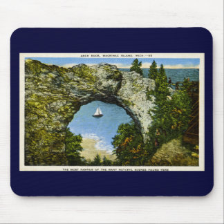 Arch Rock Mackinac Island, Michigan Mouse Mat