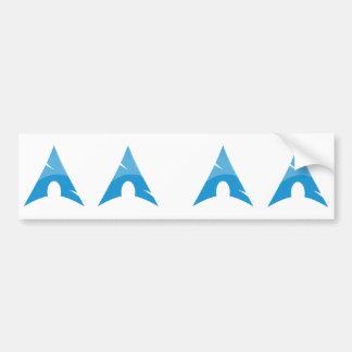 Arch stickers bumper sticker