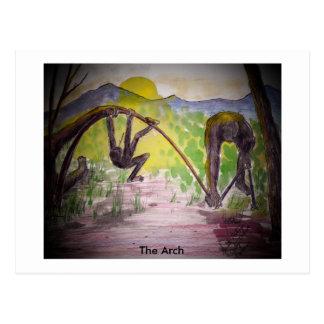 arch, The Arch Postcard