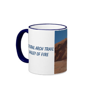 Arch Valley of Fire State Park Ringer Mug