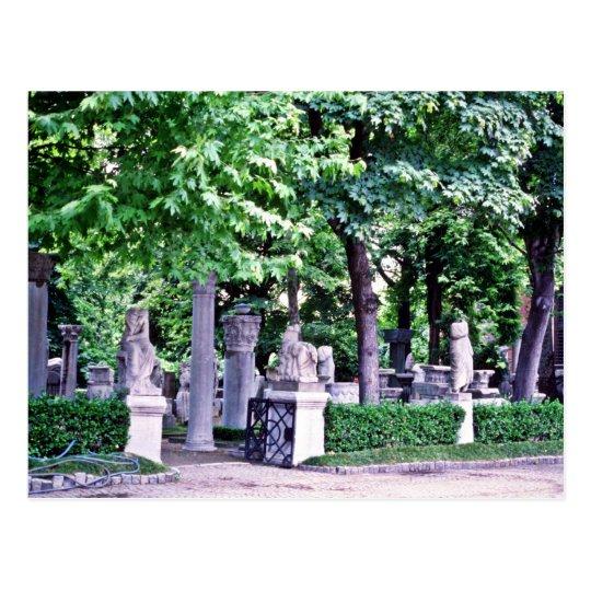 Archaeological Gardens, Istanbul Postcard