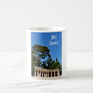 Archaeological site on top of Castle Hill in Nice Coffee Mug