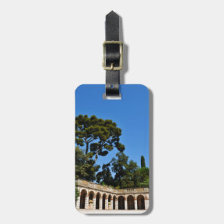 Archaeological site on top of Castle Hill in Nice Luggage Tag
