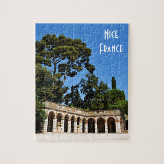 Archaeological site on top of Castle Hill in Nice Puzzle