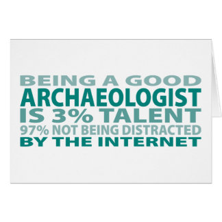 Archaeologist 3% Talent Card