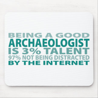 Archaeologist 3 Talent Mouse Pad