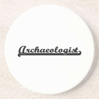 Archaeologist Artistic Job Design Beverage Coasters