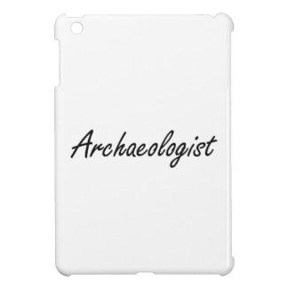 Archaeologist Artistic Job Design iPad Mini Cover
