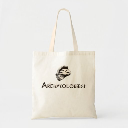 Archaeologist Tote Bags
