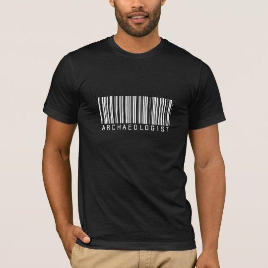 Archaeologist Bar Code T-Shirt