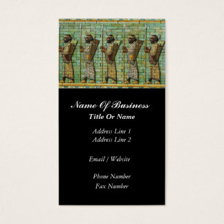 Archaeologist Business Card