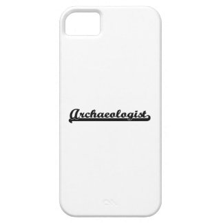 Archaeologist Classic Job Design Case For The iPhone 5