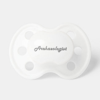 Archaeologist Classic Job Design BooginHead Pacifier