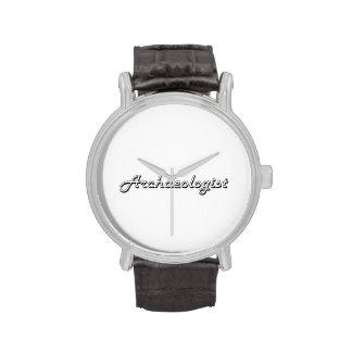 Archaeologist Classic Job Design Wrist Watch