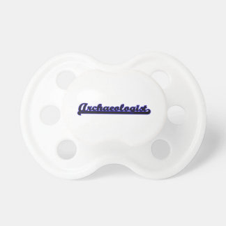 Archaeologist Classic Job Design Pacifiers