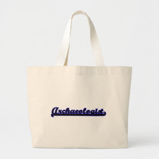 Archaeologist Classic Job Design Jumbo Tote Bag