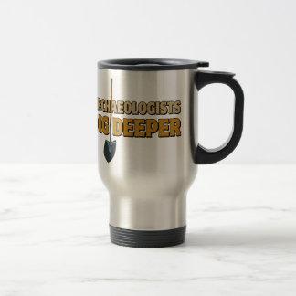 Archaeologist Dig Coffee Mugs