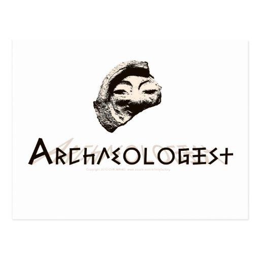 Archaeologist Postcards