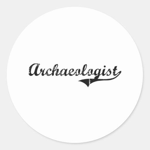 Archaeologist Professional Job Sticker