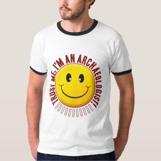 Archaeologist Trust Smiley Shirt