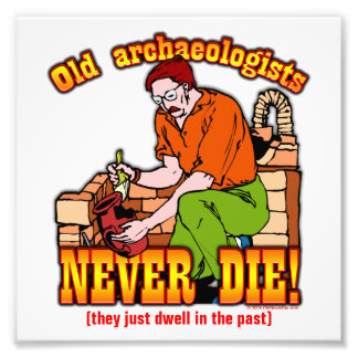 Archaeologists Photo Print