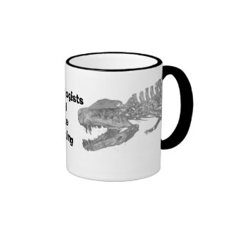 Archaeologists will date anything coffee mug