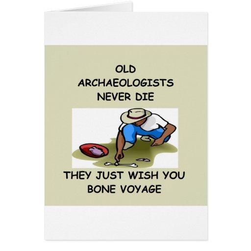 Archaeology) Card