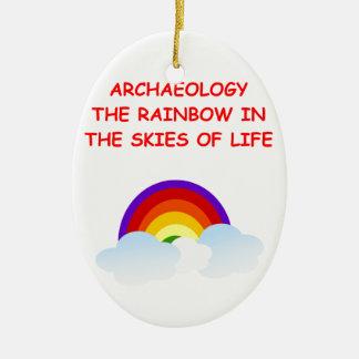 archaeology christmas ornament