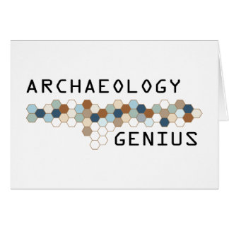 Archaeology Genius Cards