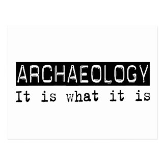 Archaeology It Is Postcard