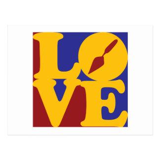 Archaeology Love Postcard