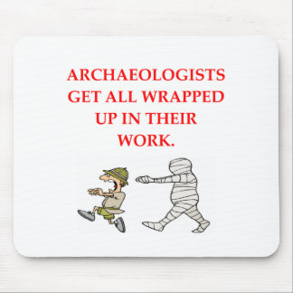 archaeology mouse mat