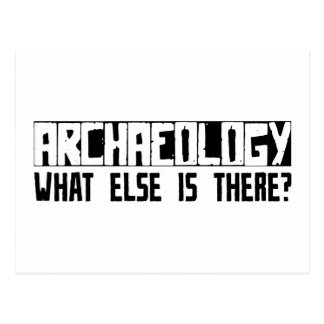 Archaeology What Else Is There? Postcard