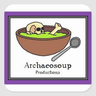 Archaeosoup Productions Stickers