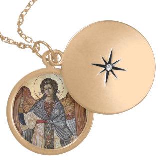 Archangel Gabriel Locket Necklace