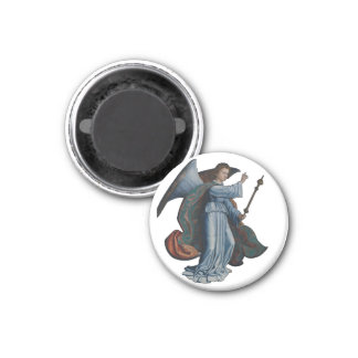 Archangel Gabriel 3 Cm Round Magnet