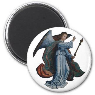 Archangel Gabriel 6 Cm Round Magnet