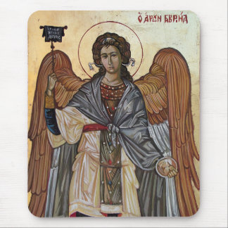 Archangel Gabriel Mouse Pads